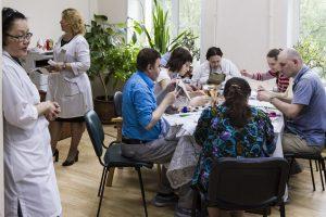 Необходимость создания трудовых мастерских обсудили в ПНД №8