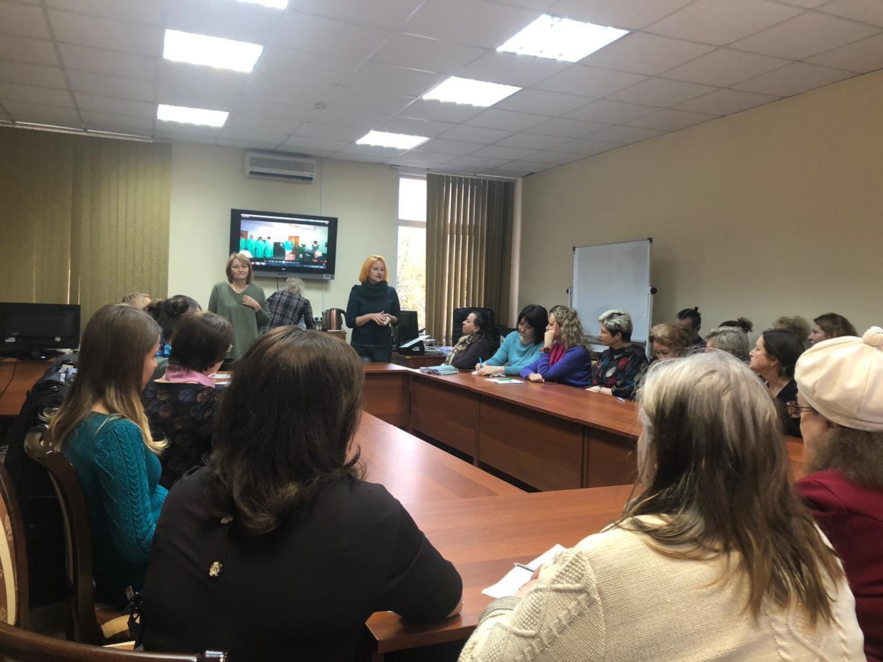 Специалисты ПКБ №4 приняли участие в круглом столе в ТЦСО «Вешняки»
