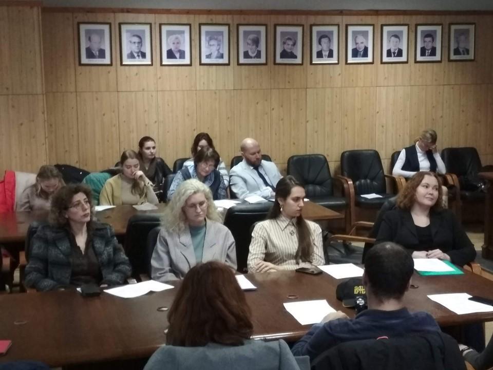 Специалисты больницы им. Ганнушкина выступили на конференции в РГСУ